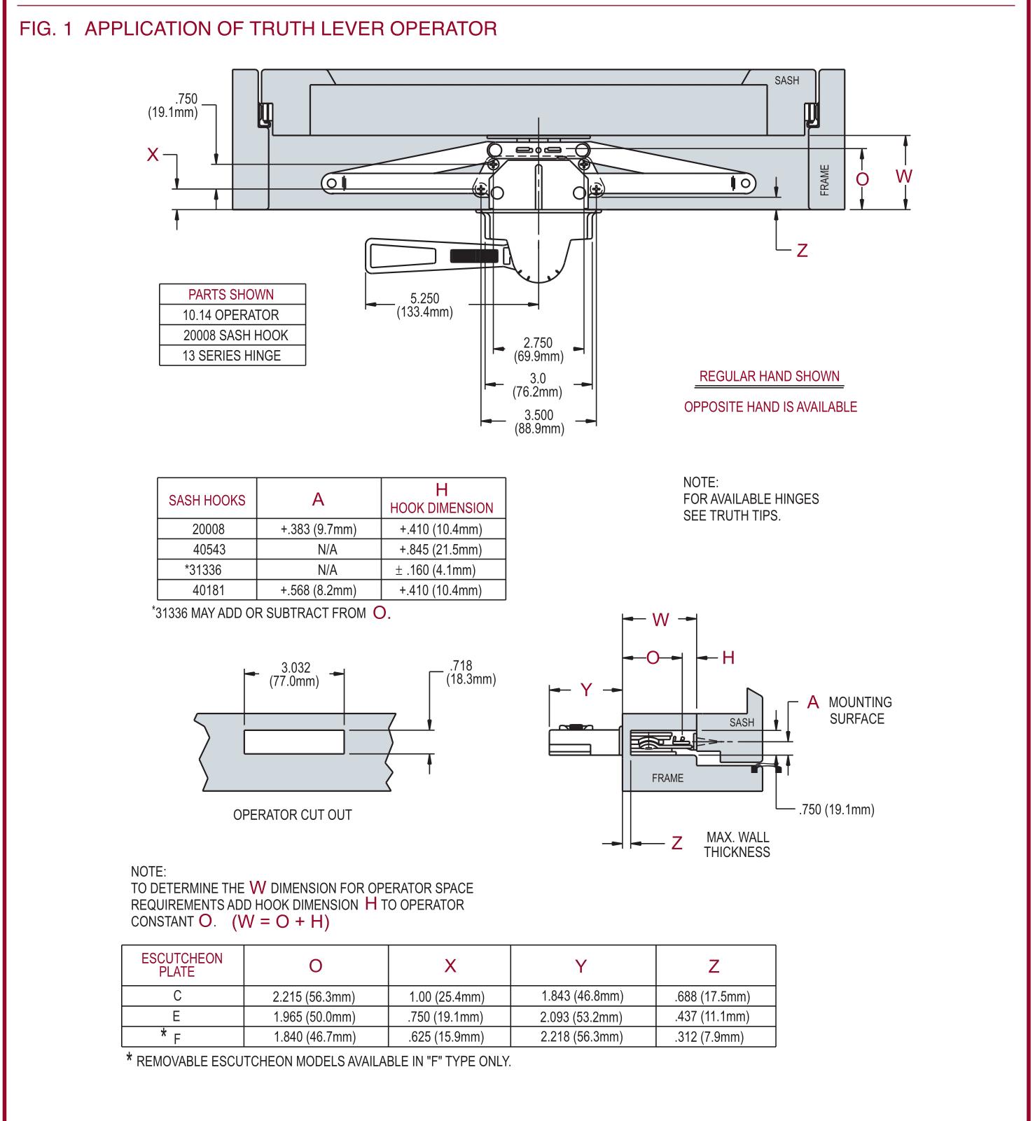 10.10 series spec sheet