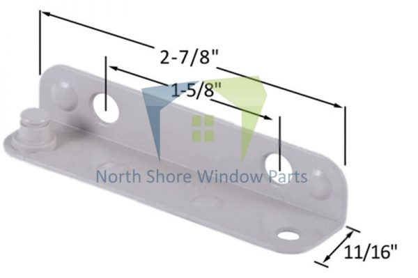 Stud Bracket (Truth Hardware 10402, 10403) (Right)