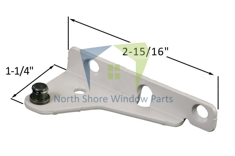 Stud Bracket with Snap Stud (Truth Hardware 12510, 12511) (Right)
