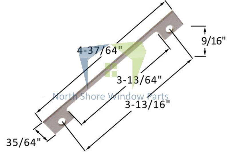 Support Plate (Truth Hardware 'Maxim' 21600)
